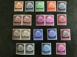 Марки рейха с надпечатками., фото №2