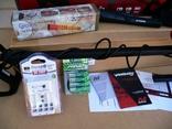 Металлоискатель Minelab Vanquish 340 + Пинпоинтер + АКБ 8 шт.+зарядное, фото №4