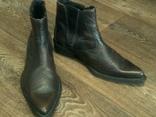 Porto Leone - фирменные кожаные ботинки разм.40, фото №5