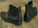 Porto Leone - фирменные кожаные ботинки разм.40, фото №7