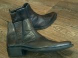 Porto Leone - фирменные кожаные ботинки разм.40, фото №13