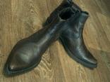 Porto Leone - фирменные кожаные ботинки разм.40, фото №4