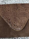 Клатч из крокодильей кожи, фото №3