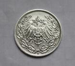 1/2 марки 1919 г. (А) Германия, серебро, фото №5