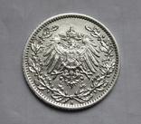 1/2 марки 1919 г. (А) Германия, серебро, фото №6