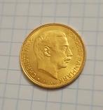 20 крон 1916 год ДАНИЯ золото 8,96 грамм 900`, фото №2