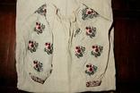 Старинная льняная сорочка, фото №5