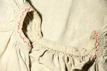 Старинная льняная сорочка, фото №8