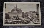 Старинная фотооткрытка: BRNO - ZELNÝ TRH A MUZEUM. 1930 год., фото №2