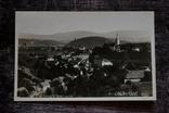 Старинная фотооткрытка: Oslavany (общий вид на город). 1936 г., фото №2