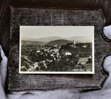 Старинная фотооткрытка: Oslavany (общий вид на город). 1936 г., фото №3