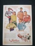 """Открытка в винтажном стиле """"Jantzen sweaters"""", фото №2"""