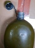 Фляга армейская 1991 год. Красный выборжец, фото №5