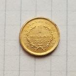 США 1 доллар 1854 г. (копия), фото №3