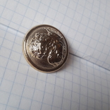 2 пуговицы с фрака герб корона. Франция 26 мм, фото №7