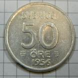 50 оре 1956 серебро, фото №2