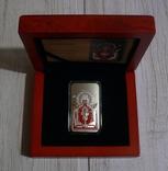 Православные святыни - Икона НЕУПИВАЕМАЯ ЧАША - серебро 999, 2 доллара, фото №2