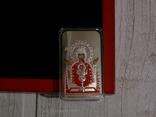 Православные святыни - Икона НЕУПИВАЕМАЯ ЧАША - серебро 999, 2 доллара, фото №3