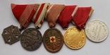 Комплект медалей на ветерана Первой мировой войны., фото №2