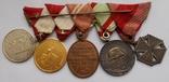 Комплект медалей на ветерана Первой мировой войны., фото №5