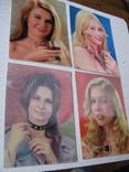Стереооткр, подмигивающие женщины, 4 шт, фото №3