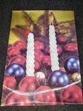Стерио-объёмная открытка новогодняя, фото №2