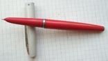 Перьевая ручка ЯАР-30. Красная. Пишет мягко и насыщенно., фото №2