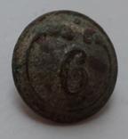 Пуговица 6 полк малая, фото №3