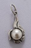 Гарнітур срібний, фото №3