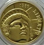 5 доларів 1986 року, STATUE OF LIBERTY CENTENNIAL, Сторіччя статуї Свободи, фото №2