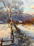 Закарпатский пейзаж масло холст 60/80, фото №6