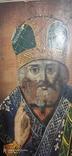 Николай Чудотворец украинская икона конца 18 начала 19 ст., фото №5