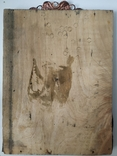 Икона с бусами и канителью, фото №3