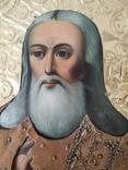 Икона с бусами и канителью, фото №13