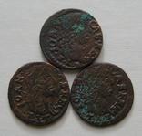 3. Солиды. Боратинки 1665 года. Ян ІІ Казимир Ваза ( 3 штуки )., фото №3