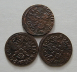 4. Солиды. Боратинки 1664 года. Ян ІІ Казимир Ваза ( 3 штуки )., фото №10