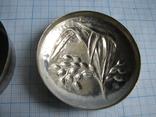 Шкатулка серебро 800пр. вес - 36,3г, фото №5
