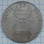 32 шиллинга 1738 года, Любек, Германия , Серебро, фото №2