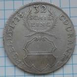 32 шиллинга 1738 года, Любек, Германия , Серебро, фото №4