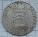 32 шиллинга 1738 года, Любек, Германия , Серебро, фото №10