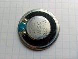 Динамик для металлоискателя 8 Ом. 1 W диаметром 30 мм., фото №2