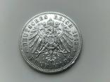 5 марок 1913 Прусія, фото №3