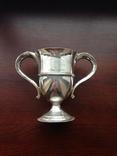 Кубок Призовой Серебро 925 проба Англия 1903 год HILTON, фото №2