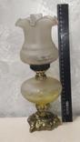 Керасинова гасова лампа нічник, фото №2