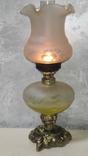 Керасинова гасова лампа нічник, фото №6