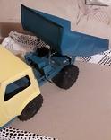 Игрушка СССР Машина Грузовик Самосвал большая,металл,комплектная, фото №4
