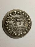 Древняя Греция копия монеты посеребренная г82, фото №3