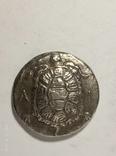 Древняя Греция копия монеты посеребренная г95, фото №2