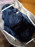 Большая фирменная кожаная сумка, фото №8