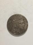 Древняя Греция копия монеты посеребренная г101, фото №2